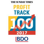 Envada Ranks in Sunday Times BDO Profit Track 100