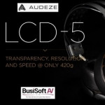 Audeze announces its new LCD-5 flagship reference headphones for the ultimate audio aficionado