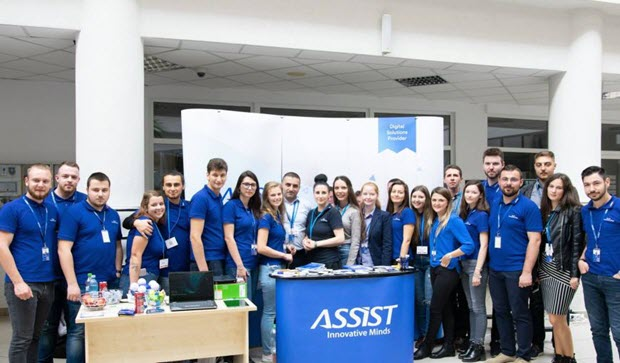Assist Software at Codecamp Suceava