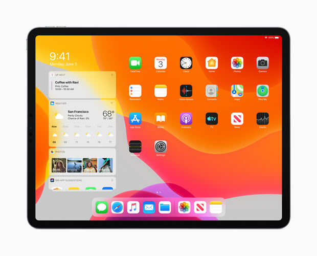 iPad With iPadOS 13